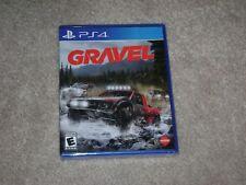GRAVEL....PS4....***SEALED***BRAND NEW***!!!!!!!!!!