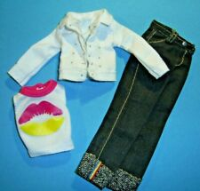 %***Barbie Skipper Kleidung,Jeanshose,Jacke,Shirt***%