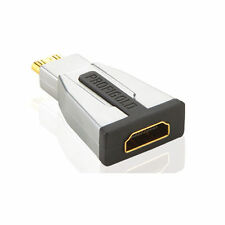 Profigold PROD150 HDMI to Mini HDMI Adapter HDMI Female to Mini HDMI Male Gold