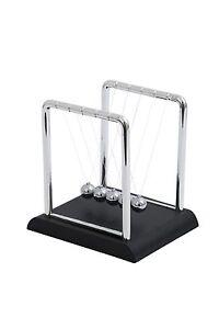 10cm Pendolo di Newton Classico Kinetic Fisica Ipnotica Desktop Gadget 9337