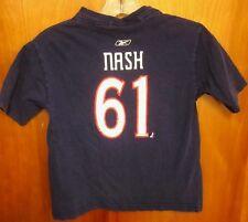 cb1d766aa COLUMBUS BLUE JACKETS Rick Nash youth lrg T shirt NHL hockey tee OHIO