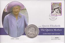 More details for gb pnc coin cover 2002 queen mother memorial 2000 tristan da cunha coin 0270