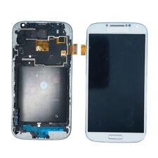 PANTALLA COMPLETA LCD + TACTIL MARCO SAMSUNG S4 GT-I9505 PANTALLA BLANCO/NEGRO