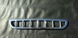 MG MGB Air Intake Grille Chrome Original AHH6102