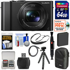 Panasonic Lumix DMC-LX10 4K Wi-Fi Digital Camera with Leica DC 24-72mm Lens Kit
