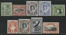 Tonga 1942 complete set to 5/ mint o.g.