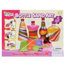 Toys 4U Bottle Sand Art Creative Craft Toy Age 5 Set Kit