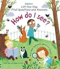 Lift-the-Flap First Questions & Answers How Do I See? by Katie Daynes (Board...