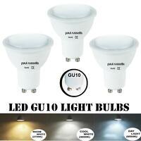 LED GU10 Bulbs 3w = 25w 4W = 40w 5W = 50W Spot Light Lamp 2700k/4000k/6500k