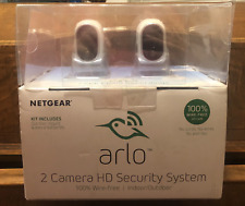 New other Netgear Arlo Smart Home Indoor/Outdoor Wireless IP Security Cameras, 2