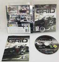 Race Driver: Grid for PS3 Playstation 3  Original & Complete GOOD CONDITION
