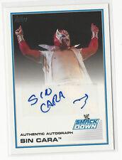 Sinn Cara 2013 Topps WWE Certified Autograph Card Auto Smackdown Wrestling