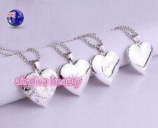 Women Girl Photo frame Locket Open Pendant Necklace Chain Christmas Gift for her