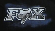 FOX RACING MOTORCROSS SPORTS Stunt Trick Rider Black SS T Shirt Size L