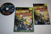 Splat Magazine Renegade Paintball Microsoft Xbox Complete CIB VERY Fast Ship!