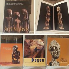 Fine African Art 4-book bundle Mask Figure Sculpture Statue