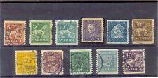 SUECIA YT 1923-26 Nº154-163 USADO