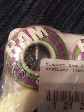 Element Nos Bam Margera 51mm Skateboard Wheels Durathane 2000's Nyjah