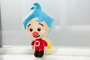 Plim Plim plush Clown plush handmade soft toy, made to order, 16 in