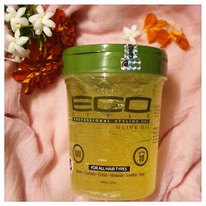 ECO Style Professional Styling Olive Oil Gel 32oz - Australia Stock