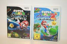 SUPER MARIO GALAXY + SUPER MARIO GALAXY 2 _  NINTENDO WII _ WII U _ 2 GAMES