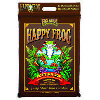 FoxFarm Happy Frog Nutrient Rich Rapid Growth Potting Soil, 12 quart | FX14081