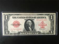 CHOICE UNCIRCULATED RED SEAL 1923 $1 FR40 Legal Tender