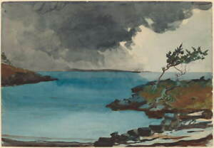 Winslow Homer The Coming Storm Poster Reproduction Paintings Giclee Canvas Print