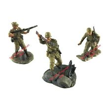 1:32 21st Century Toys Ultimate Soldier German Army Afrika Korps - 3 Figure Lot