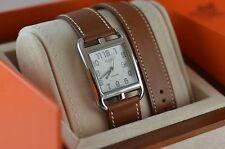 AUTH Hermes CAPE COD GM Auto CC1.710 Double Tour Watch