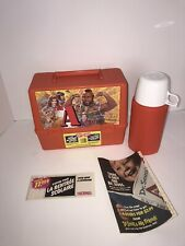 Vintage A-Team Lunchbox And Thermos New Unused Canadian Thermos Brand Lunch Box