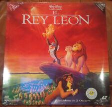 Laser Disc - El Rey León (precintada) Walt Disney los clásicos.