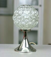 70er Tischlampe chrom glas Space Age Sputnik Bubbles Table Lamp Light