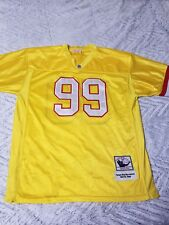 Mitchell Ness Throwback Warren Sapp #99 NFL Tampa Bay Buccaneers Jersey Size 54