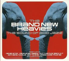 THE BRAND NEW HEAVIES THE SOUND OF ACID JAZZ - 2 CD BOX SET - NEVER STOP & MORE