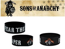 Sons Of Anarchy Bracelet Silicone OFFICIEL SOA official reaper wristband