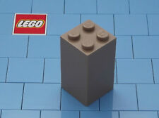 Lego 30145 2x2x3 Dark Tan Brick X 1 NEW