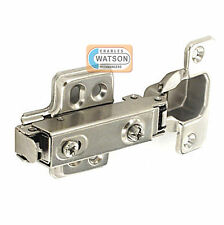 Soft Close Kitchen Cabinet Door Concealed Hinge & Plate Clip On Nickel Hydraulic