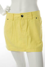 Bench Small $80 CAD Ladies Yellow Sexy Jean Fashion Style Short Mini Skirt NWT