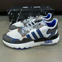 Adidas Originals Nite Jogger Star Wars R2D2 White Blue Men's Shoes FV8040 New