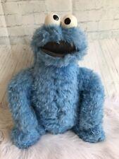 Large Vintage Sesame Street Cookie Monster Stuffed Plush Knickerbocker 1970s