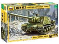 ISU-122 - WW II SOVIET SELF-PROPELLED GUN  #3534 1/35 ZVEZDA