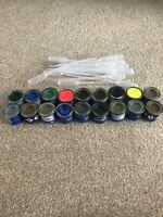 18 Revell Email Color Paints And Pipettes