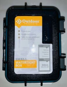 Outdoor Products - Small Watertight Box - 28.4oz Capacity NEW