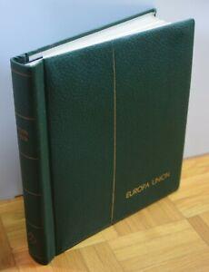 Leuchtturm Vordruckalbum Europa Union 1956-1966 + einige Briefmarken (54 Bilder)