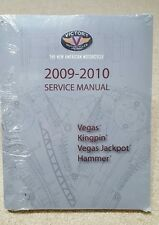 OEM Victory 2009-2010 Vegas Kingpin Jackpot Hammer service manual, 9922432, NEW
