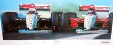 Paul Newman,Michael Andretti,Paul Tracy,Haas Official Signed Indy 500 Lithograph
