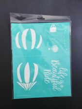 *New* Retired Life Is A Beautiful Ride Size B Chalk Couture Transfer Stencil