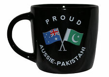 PROUD AUSSIE - PAKISTANI TEA COFFEE MUG AUSTRALIAN SOUVENIR GIFT PAKISTAN BLACK