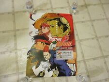 Capcom Fighting Jam Playstation 2 PS2 Japanese Promo Store Display Poster